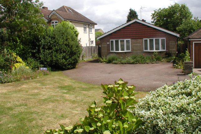 Thumbnail Detached bungalow for sale in Ware Road, Hoddesdon