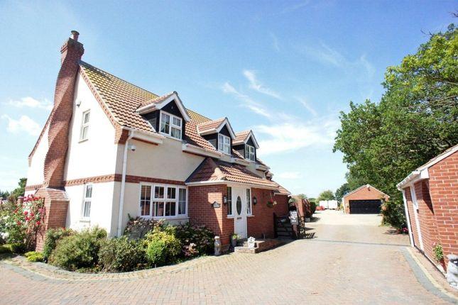 Thumbnail Detached house for sale in London Road, Gisleham, Lowestoft