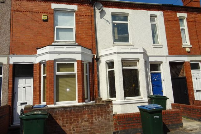 Thumbnail Terraced house to rent in Hugh Road, Stoke, Coventry