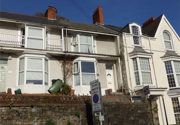 Thumbnail Terraced house for sale in Carlton Terrace, Mount Pleasant, Swansea