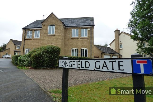 Thumbnail Detached house to rent in Longfield Gate, Orton Longueville, Peterborough, Cambridgeshire.