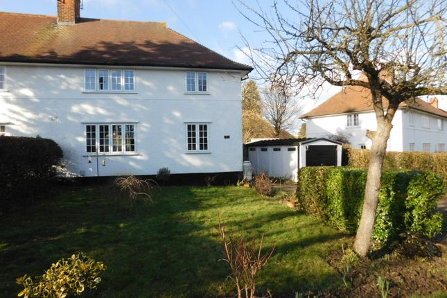 Thumbnail Semi-detached house for sale in Lytton Avenue, Letchworth Garden City