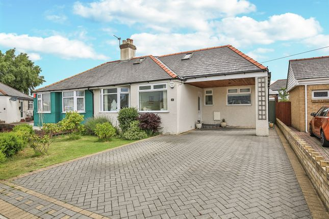 Thumbnail Semi-detached bungalow for sale in Greenfield Avenue, Whitchurch, Cardiff
