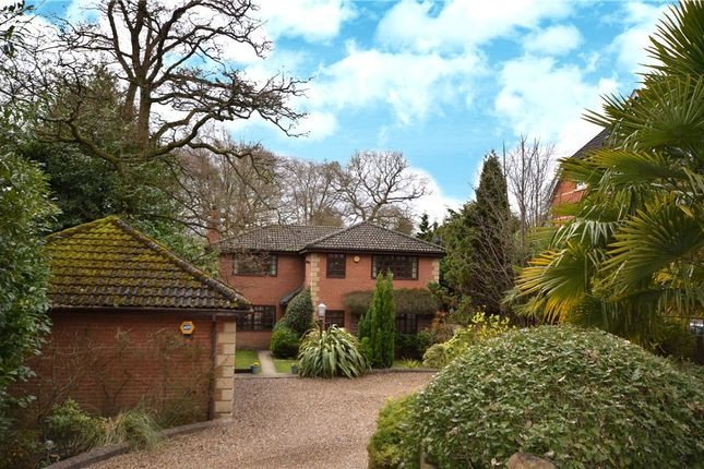 Thumbnail Detached house for sale in Crawley Ridge, Camberley, Surrey