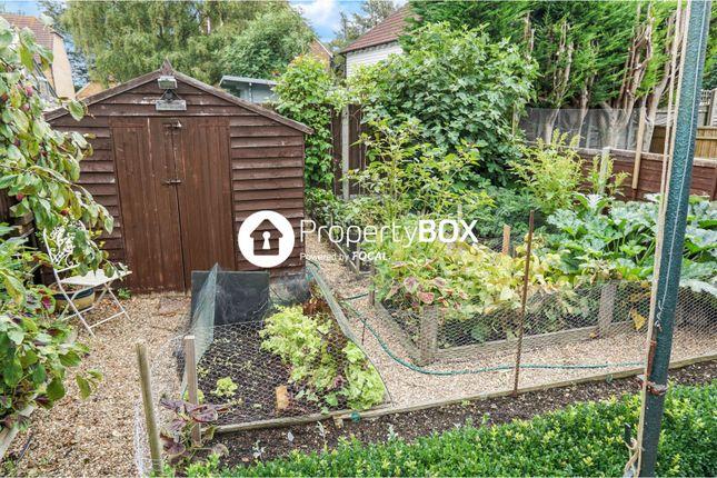 Rear Garden of Bower Mount Road, Maidstone ME16