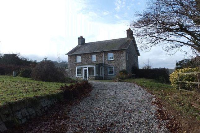 Thumbnail Farmhouse for sale in Chillaton, Lifton