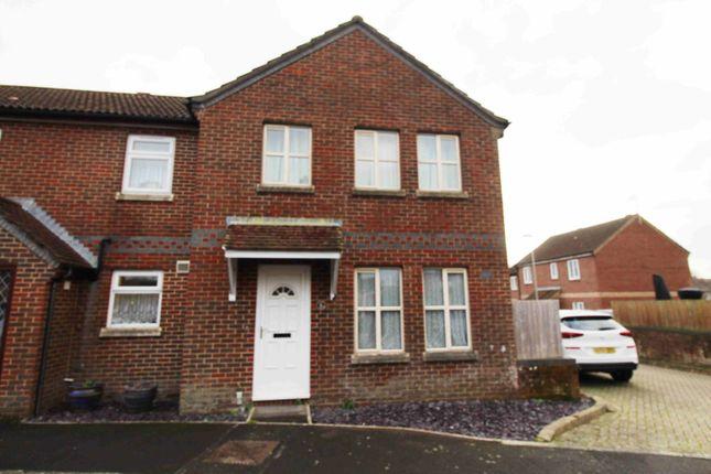 Thumbnail Semi-detached house for sale in Edward Crescent, Wareham