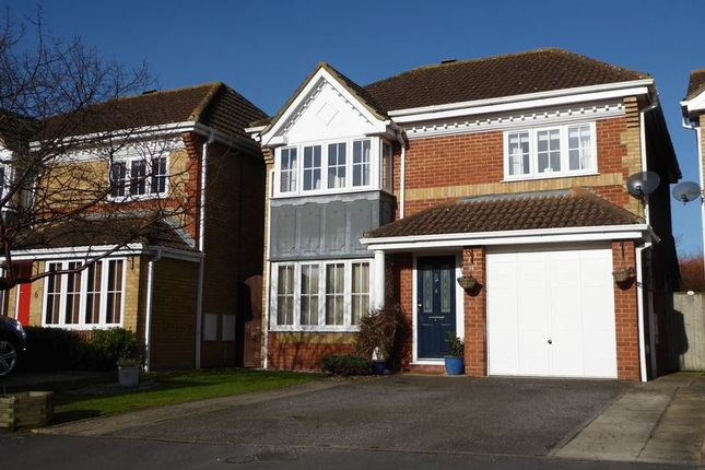Thumbnail Detached house for sale in Swallow Close, Bicester