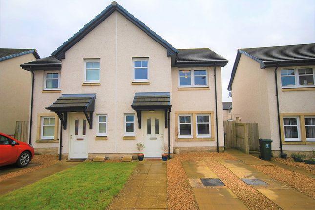 Thumbnail Semi-detached house for sale in Hebridean Gardens, Crieff