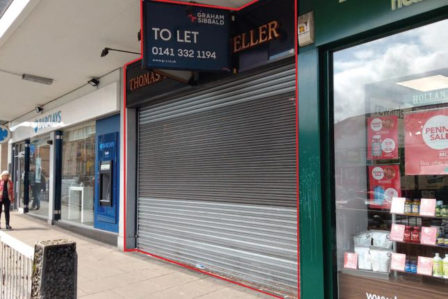 Thumbnail Retail premises to let in Kilmarnock Road, Shawlands, Glasgow