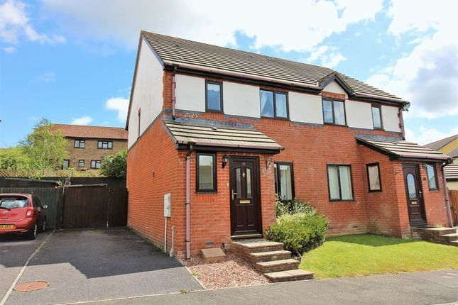 Thumbnail Semi-detached house to rent in Henley Close, Chardstock, Nr Axminster