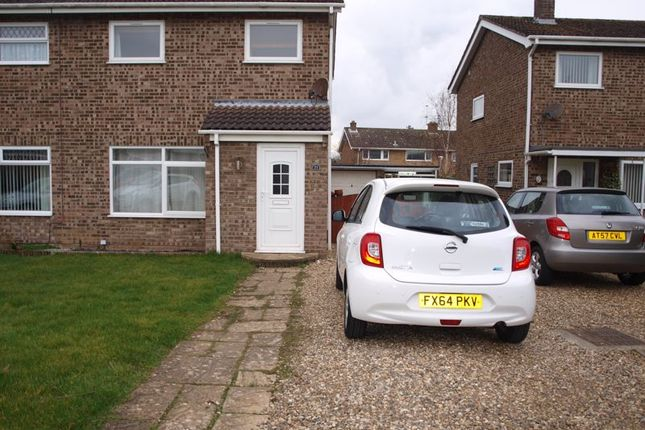 Thumbnail Semi-detached house to rent in Heather Gardens, Belton, Great Yarmouth