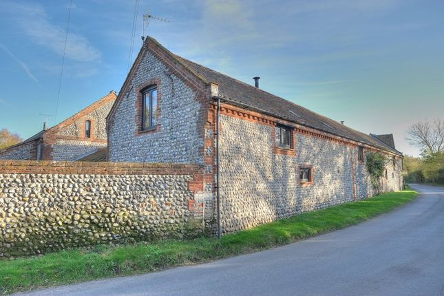 Thumbnail Barn conversion for sale in Back Lane, Roughton, Norwich