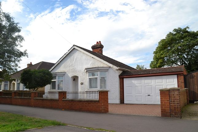 Thumbnail Detached bungalow for sale in London Road, Bedford