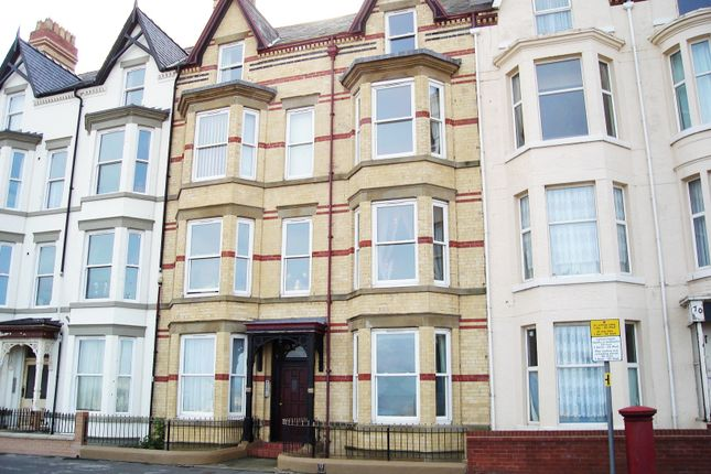 Thumbnail Flat to rent in Apartment 6, West Parade, Rhyl