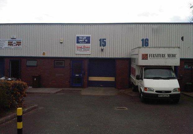 Thumbnail Light industrial to let in Unit 15, Engineer Park, Babbage Road, Sandycroft, Flintshire