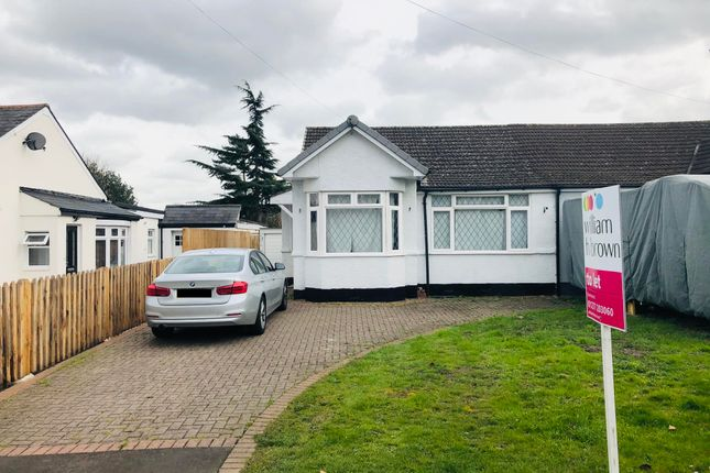 Thumbnail Semi-detached bungalow to rent in Chelmsford Road, Shenfield, Brentwood