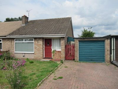 Thumbnail Semi-detached bungalow for sale in Chantry Road, Romanby, Northallerton