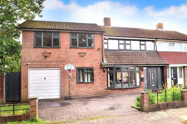 Thumbnail Semi-detached house for sale in Dormans, Gossops Green, Crawley