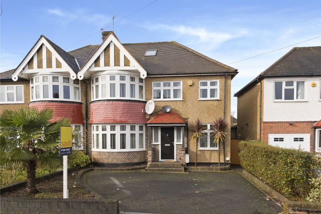 Thumbnail Detached house for sale in Kings Drive, Surbiton, Surrey