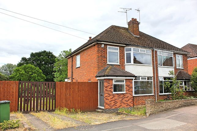 3 bed semi-detached house for sale in Trinity Road, Enderby, Leicester LE19