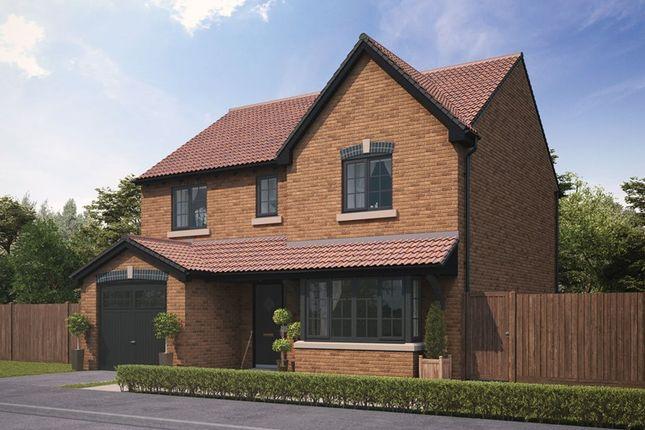 Thumbnail Detached house for sale in Essendene Rise, Freeman Way, Ashington, Northumberland