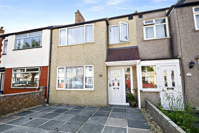Thumbnail Terraced house for sale in Rosemead Avenue, Mitcham