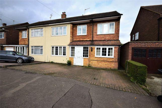 Thumbnail Semi-detached house for sale in Linkside Road, Bishop's Stortford