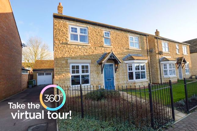 4 bed detached house for sale in Groves Crescent, Stamford PE9