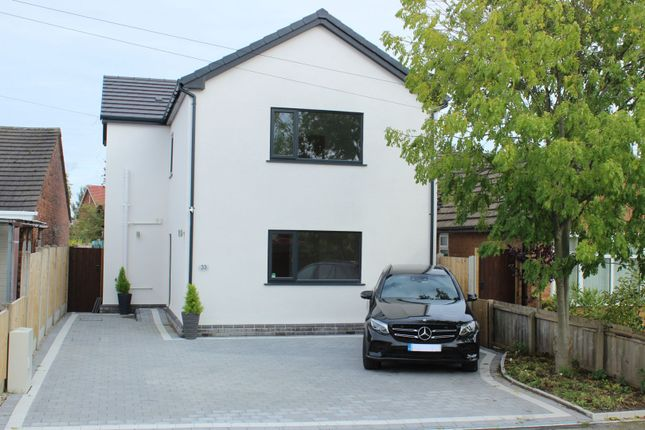 Thumbnail 3 bed detached house for sale in Arrowe Avenue, Moreton, Wirral