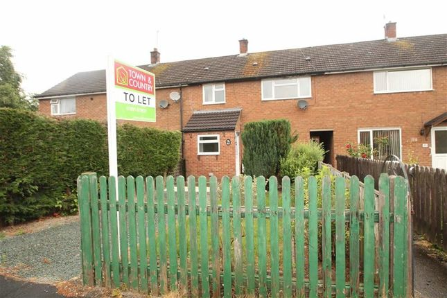 Thumbnail Terraced house to rent in Maple Avenue, Oswestry, Shropshire