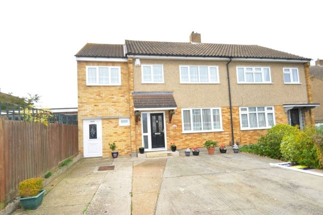 Thumbnail Semi-detached house for sale in Brian Close, Moulsham Lodge, Chelmsford, Essex