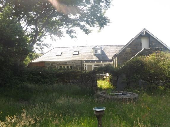 Thumbnail Detached house for sale in Llanbedr, Gwynedd