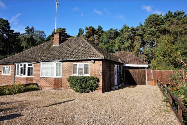 Thumbnail Semi-detached bungalow for sale in Greenways, Fleet
