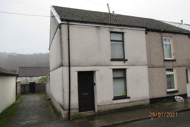Thumbnail 2 bed end terrace house for sale in Club Row, Ystrad, Rhondda Cynon Taff.
