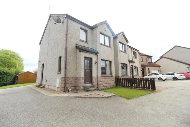 Thumbnail Semi-detached house to rent in Fairway Avenue, Inverurie