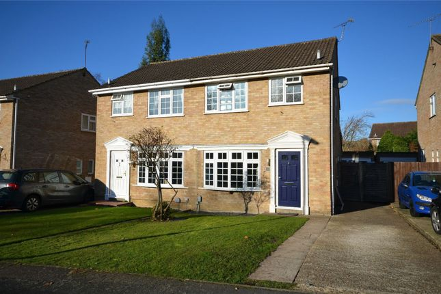 Thumbnail Semi-detached house for sale in Hadleigh Gardens, Frimley Green, Surrey
