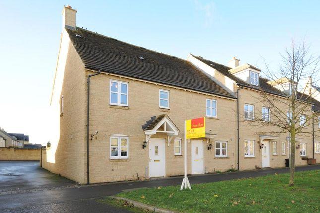 Thumbnail End terrace house to rent in Elmhurst Way, Carterton