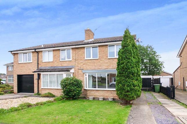 Thumbnail Semi-detached house to rent in Kirkcroft, Wigginton, York