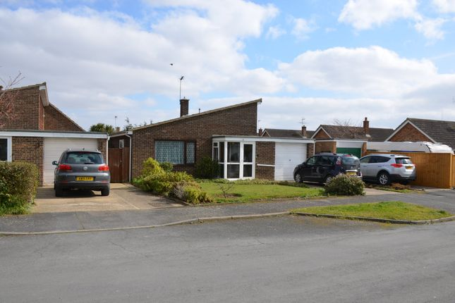Thumbnail Detached bungalow for sale in Windermere Road, Felixstowe