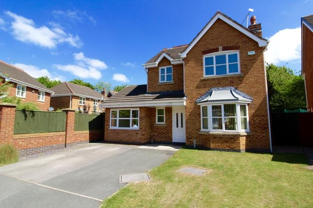 Thumbnail Detached house to rent in Avondale Crescent, Pandy, Wrexham