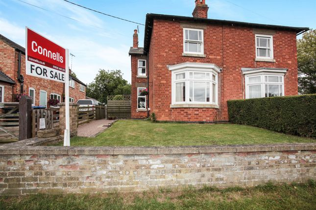 Thumbnail Semi-detached house for sale in North End, Hallaton, Market Harborough