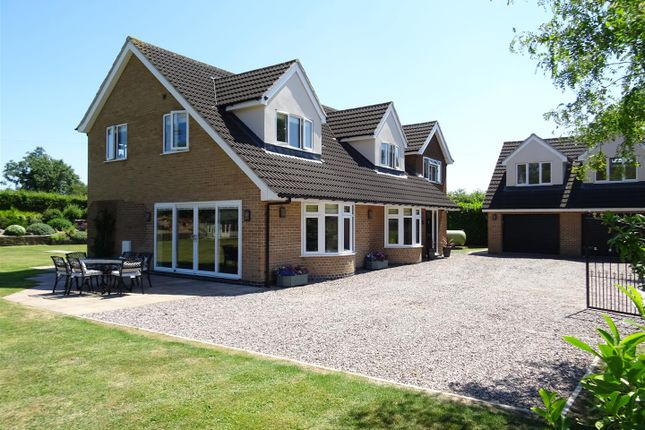 Thumbnail Detached house for sale in Ashby Road, Sinope, Leicestershire