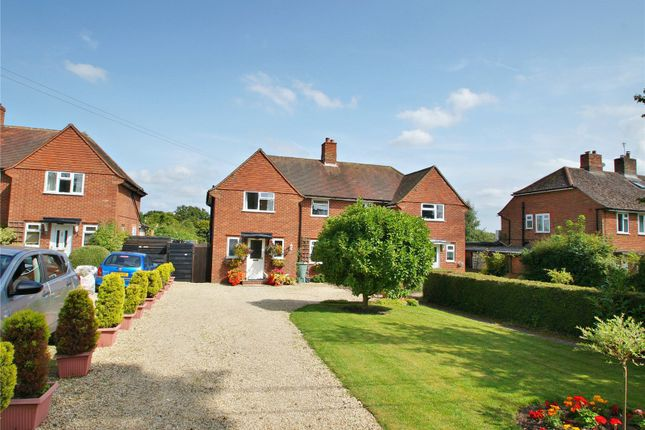 Thumbnail Semi-detached house for sale in Chiltern Cottages, Ibstone, High Wycombe, Buckinghamshire