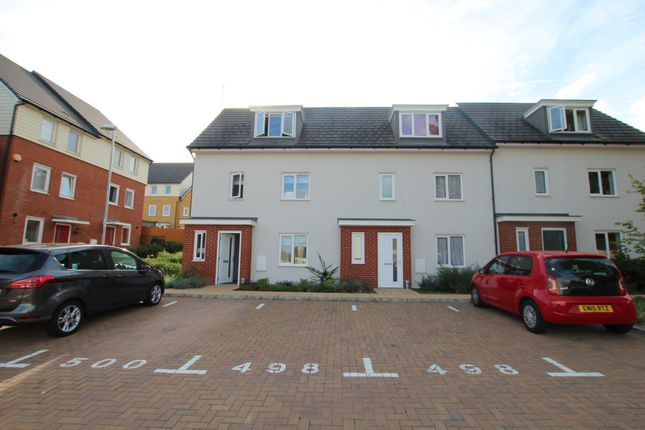 Thumbnail End terrace house to rent in Bowhill Way, Harlow