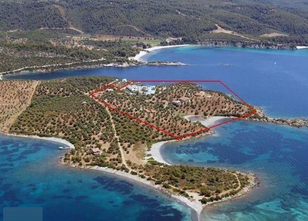 Thumbnail Land for sale in Spalathronisia, Chalkidiki, Gr