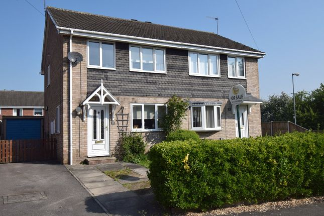 Thumbnail Semi Detached House For Sale In Helston Road Normanton