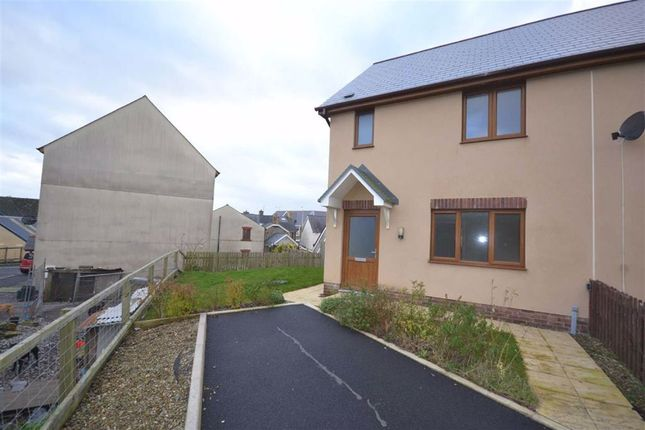 3 bed end terrace house to rent in Llys Y Brenin, Whitland, Carmarthenshire SA34