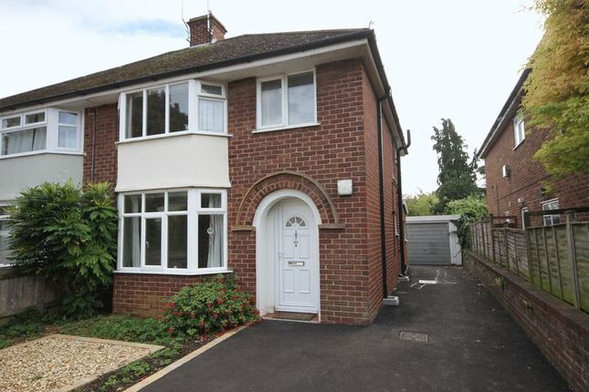 Thumbnail Semi-detached house for sale in Tennyson Road, Cheltenham