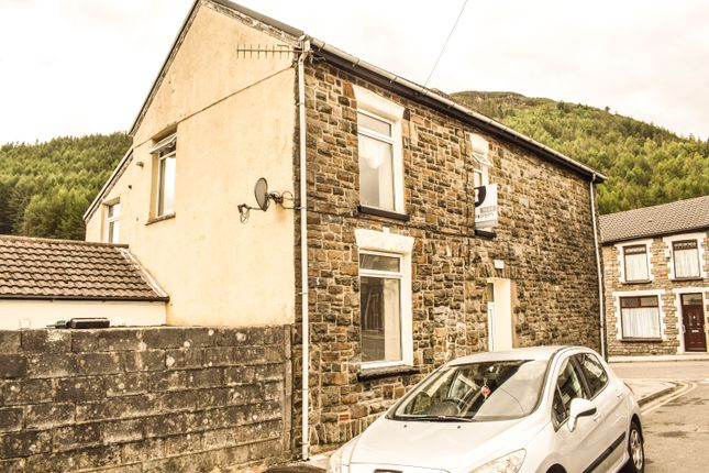 4 bed end terrace house to rent in Gwendoline Street, Treherbert CF42
